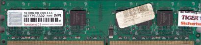 Kingston KVR667D2N5 1GB 99U5429-005.A01LF DDR2 Speicher PC2-5300* r27
