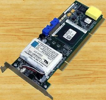 Adaptec IBM PCI-X ServeRAID Karte U320 ASR-2020S,128MB mit BackUp Akku* pz901