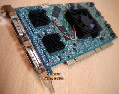 Matrox QID Pro 256MB 64-bit PCI PCI-X 2D 3D Grafikkarte bis zu 4 Monitore* g232