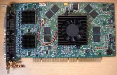 Matrox QID Pro 256MB 64-bit PCI PCI-X Grafikkarte für bis zu vier Monitore* g232