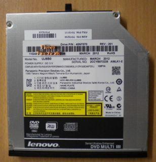 Lenovo Panasonic Precision UJ8B0 Super Multi DVD III RW Laptop Brenner* L702