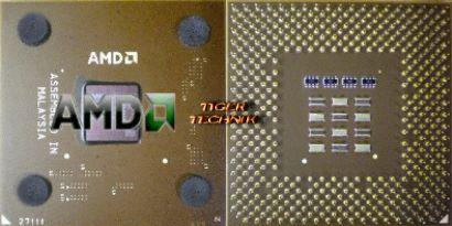 CPU Prozessor AMD Athlon XP 1500+ AX1500DMT3C FSB266 Sockel A 462 braun* c106