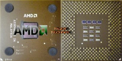 CPU Prozessor AMD Athlon XP 2000+ AXDA2000DUT3C FSB266 Sockel A 462 braun* c120