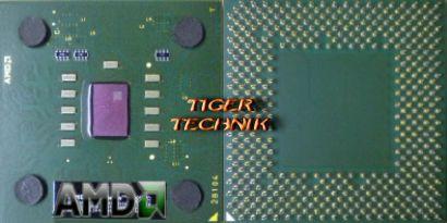 CPU Prozessor AMD Athlon XP 2600+ AXDA2600DKV3D FSB333 Sockel A 462 grün* c136