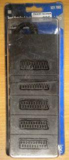 Schwaiger SCV 7085 5-fach SCART Verteiler 5x Buchse - 1x Stecker *so396