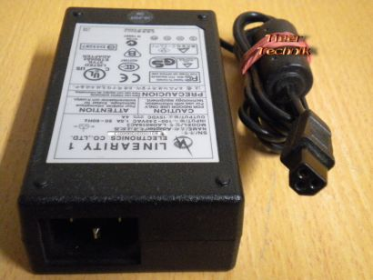 LINEARITY LAD6019AC3 AC DC Adapter 15V 4A Netzteil* nt488