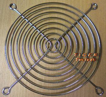 Fan Grill 120mm 12cm Lüfter Grill Gitter silber PC Computer* pz14