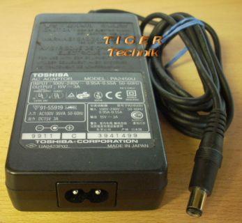 TOSHIBA PA2450U AC DC Adapter 15V 3A Netzteil* nt508