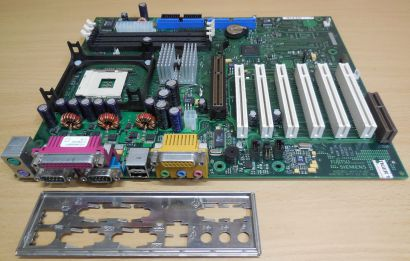 Fujitsu Siemens D1325-C11 GS 4 Mainboard +Blende Intel Sockel 478 AGP Audio* m09