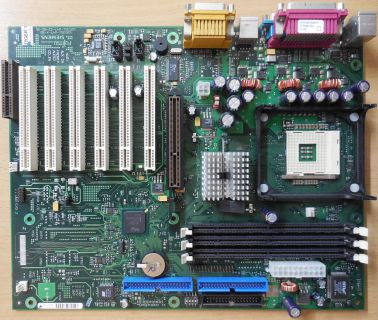 Fujitsu Siemens D1325-C11 GS 4 Mainboard +Blende Intel Sockel 478 AGP Audio* m09