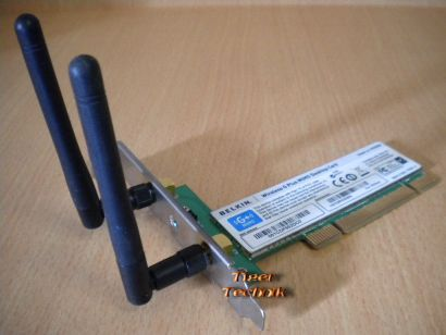 Belkin F5D9000 Wireless G Plus MIMO Desktop WLAN PCI Karte* nw29