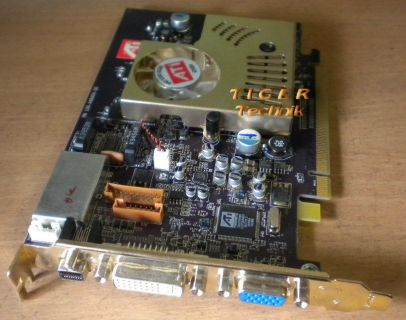 All in Wonder Radeon X600 Pro128MB128-bit PCI-Express 16x DVI VGA S-An* g46