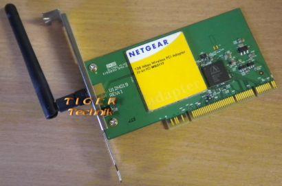 Netgear WG311TV1H3 WLAN PCI Karte* nw33