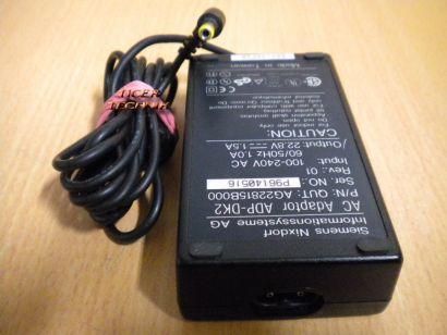 SIEMENS Nixdorf ADP-DK2 AC DC Adapter 22.8V 1.5A Netzteil* nt529