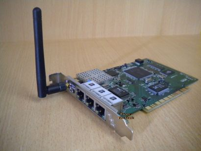 LG LW AP 100 3x Port Lan 1xPort Wlan Network Adapter PCI* nw49