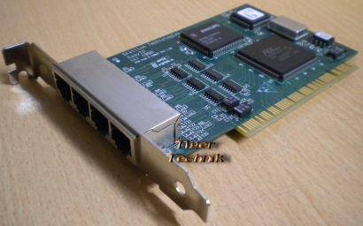 Stallion 430067 EasyIO 4 Port RJ45 PCI 4 Anschlüsse LAN* nw51