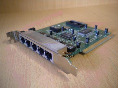Realtech RTL8029AS K0237017 5-Port Netzwerkkarte PCI* nw53