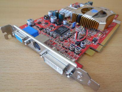 HIS 109-A18100-00 ATI Radeon X600 XT DDR 128 MB PCI-Ex 16 VGA DVI* g166