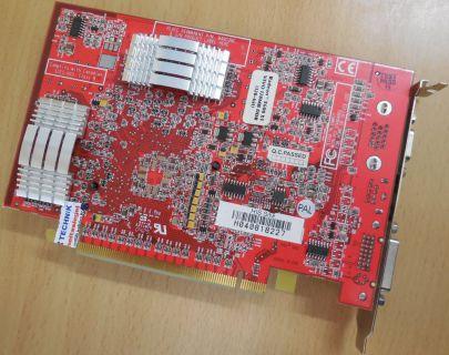 HIS Radeon X600 XT 109-A18100-00 128MB DDR 128Bit PCI-E VGA S-Video Out DVI*g166
