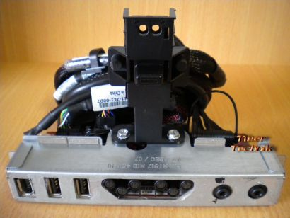 Dell XPS700 Power Schalter USB Firewire Audio Front Panel + Kabel Set* pz104