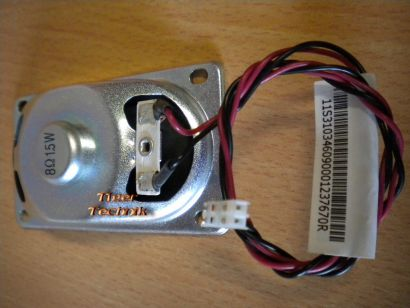Lenovo 1.5W 8Ohm Microtower Gehäuse PC System Lautsprecher Speaker 43N9091*pz107