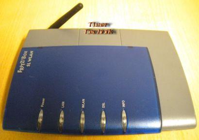 Fritz!Box SL WLAN Router Blau ADSL ADSL2+ 1x LAN-Port 1x USB * nw311