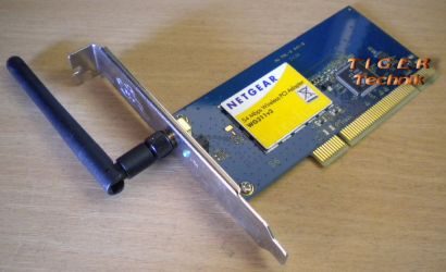 Netgear WG311 v3 802.11b g WLAN PCI Adapter Karte* wk04