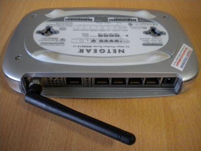 Netgear WGR614 v4 Wireless Router 54 Mbit WEP WPA 4x LAN-Ports Firewall * nw326