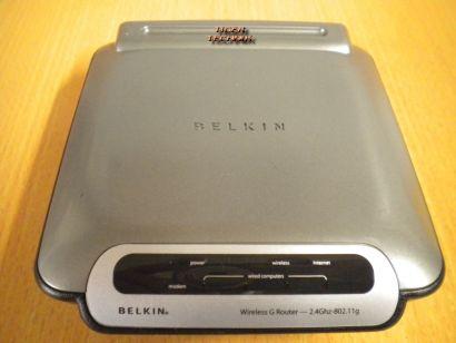 Belkin F5D7230-4 Wireless G Router 54 Mbit 4x LAN-ports SPI Firewall * nw330