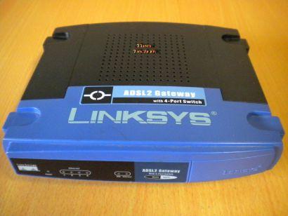 Linksys AG241 v2 ADSL2 Gateway mit 4-port Switch SPI Firewall integriert * nw332