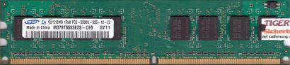 Samsung M378T6553EZS-CE6 PC2-5300 512MB DDR2 667MHz HP 377725-888 RAM* r39
