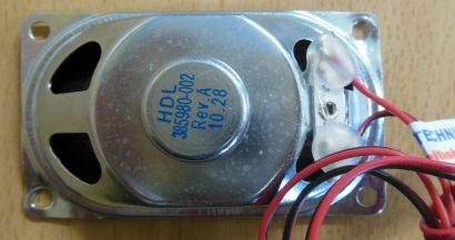 HP Compaq Workstation HDL 385980-002 Rev.A MT Gehäuse System Lautsprecher* pz105