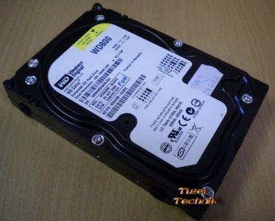 Western Digital Caviar WD800JD-00HKA0 Festplatte 80GB 3,5HDD SATA* f543