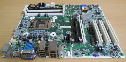 HP Elite 8100 Mainboard 531990 505799 001 Rev 0F Sockel 1156 PCIe VGA DP* m437