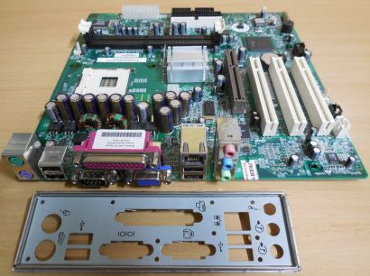HP 335187-001 Rev A06 Mainboard +Blende D230 MT NR138 Sockel 478 LAN VGA* m440