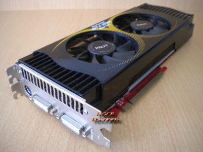 PALIT GeForce GTX260 SONIC 216SP 896MB GDDR3 PCI-E x16 2.0 Dual DVI TV-Out* g251