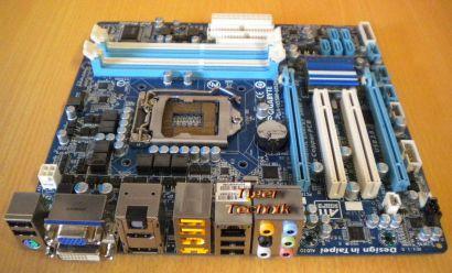 Gigabyte GA-H55M-UD2H Rev 1.0 Mainboard Sockel 1156 DDR3 HDMI DisplayPort* m448
