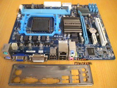 Gigabyte GA-78LMT-S2P Rev 4.0 Mainboard Sockel AM3+ DDR3 VGA DVI GbLAN * m452