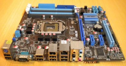 Asus P7P55-M Rev 1.01G Mainboard Sockel 1156 DDR3 PCI-E GbLAN 7.1 Audio* m455