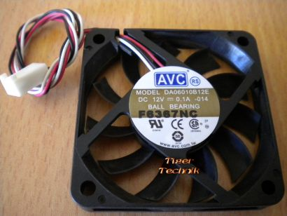 FSC Scaleo P Festplatten Kühler Lüfter AVC DA06010B12E 60x60 mm 12V 0,1A* pz117