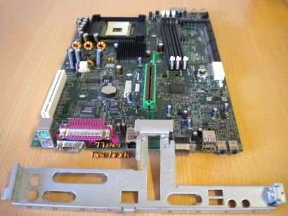 HP Evo D500 SFF 277499-001 253219-002 Rev 0H Mainboard + Blende Sockel 478* m467