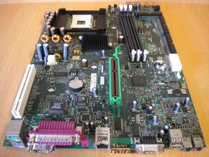 HP Evo D500 SFF 277499-001 253219-002 Rev 0H Mainboard + Blende Sockel 478* m467