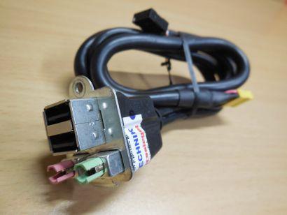 FSC Fujitsu Siemens 2 USB Audio Micro Front Panel T26139-Y3894-V113* pz121