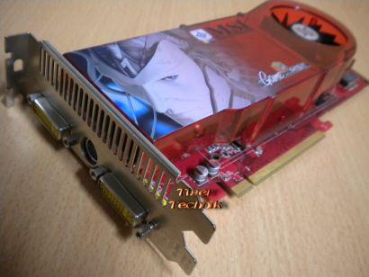 MSI RX1950Pro-VT2D512E MS-V076-Ver1.0 512MB 256Bit GDDR3 Dual DVI HDTV* g285
