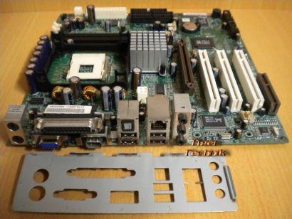 Asus P4S533-VL Rev:1.00 Mainboard + Blende Sockel 478 Sony Vaio PCVRX Serie*m496