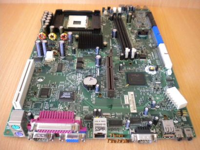 HP Evo D510 SFF 277977-001 262283-001 Rev 0F Mainboard + Blende Sockel 478* m535