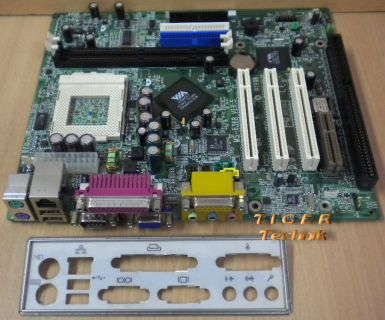 MSI MS-6368 Ver 5 Mainboard + Blende Sockel 370 LAN ISA PCI VGA Audio* m540