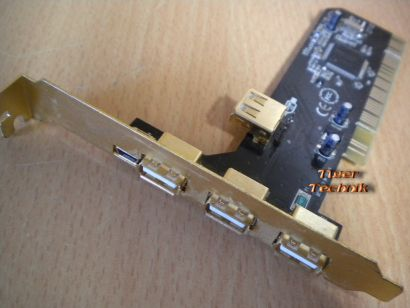 5-Port Hi-Speed USB 2.0+Mini USB Versch- Hersteller Marken Goldfarbig* sk15