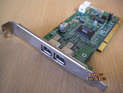 3-Port Adapter Card 3x FireWire 2x 1394a 1x 1394a1 Versch. Hersteller* sk28