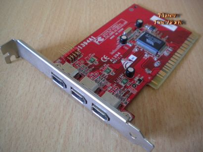 4-Port PCI Adapter Card 4x FireWire 3x 1394a 1x 1394a1 Versch. Hersteller* sk24